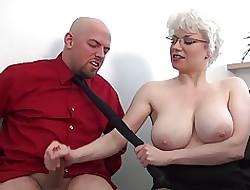 grote tieten kantoor porno - grote naakt boobs