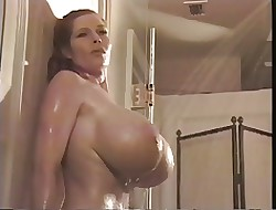 big tits in the shower - real sex in movies