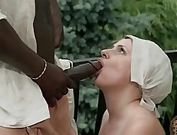 Big tits interracial gangbang - video porno gratis