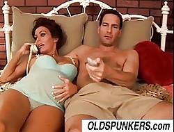 cum on wifes tits -  pretty nude girls