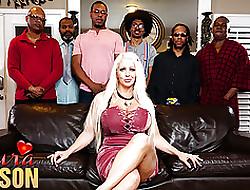 big tits interracial gangbang - free porn clips