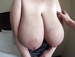 huge pregnant tits - hot sexy babe
